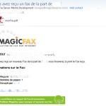 Recevoir vos fax par email