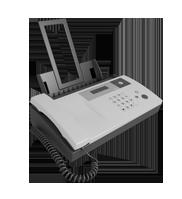Machine fax