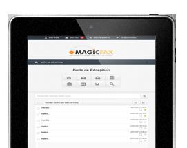 Magicfax ipad